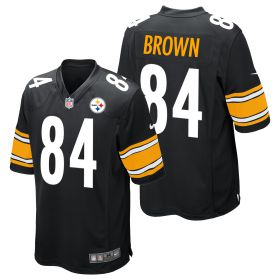 Pittsburgh Steelers Home Game Jersey - Antonio Brown