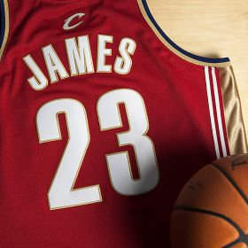 Cleveland Cavaliers Lebron James 2003-04 Road Rookie Authentic Jersey By Mitchell & Ness