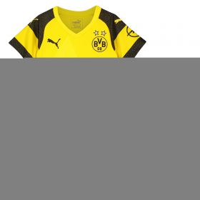 BVB Home Minikit 2018-19 with Balerdi 18 printing