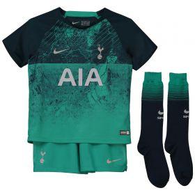Tottenham Hotspur Third Stadium Kit 2018-19 - Little Kids with Lucas 27 printing