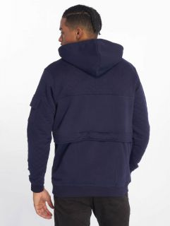 Мъжки суичър Just Rhyse / Zip Hoodie Malina Bay in blue