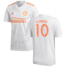 Atlanta United Away Shirt 2018 with Almirón 10 printing