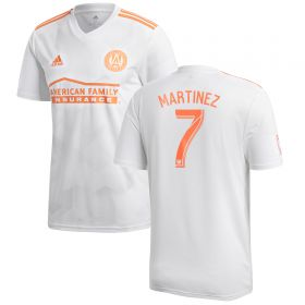Atlanta United Away Shirt 2018 with Martínez 7 printing