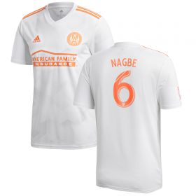 Atlanta United Away Shirt 2018 with Nagbe 6 printing