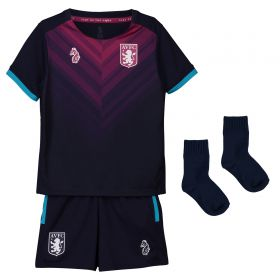 Aston Villa Third Baby Kit 2018-19 with Green 19 printing