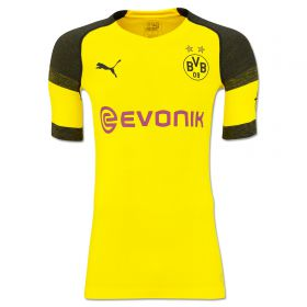BVB Authentic evoKNIT Home Shirt 2018-19 with Pulisic 22 printing
