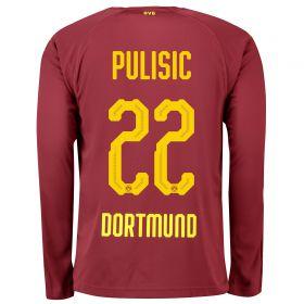 BVB BVB Third Shirt 2018-19 with Pulisic 22 printing