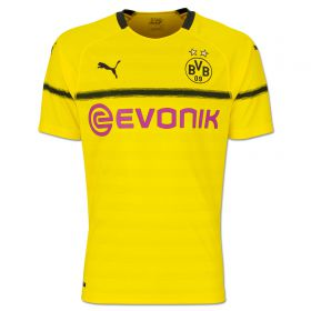 BVB Cup Home Shirt 2018-19 with Pulisic 22 printing
