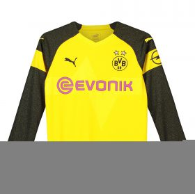 BVB Home Shirt 2018-19 - Kids - Long Sleeve with Pulisic 22 printing