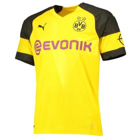 BVB Home Shirt 2018-19 - Outsize with Pulisic 22 printing