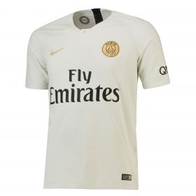 Paris Saint-Germain Away Vapor Match Shirt 2018-19 with Paredes 8 printing