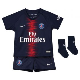 Paris Saint-Germain Home Stadium Kit 2018-19 - Infants with Paredes 8 printing