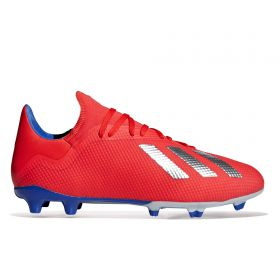 adidas X 18.3 Firm Ground Football Boots - Red