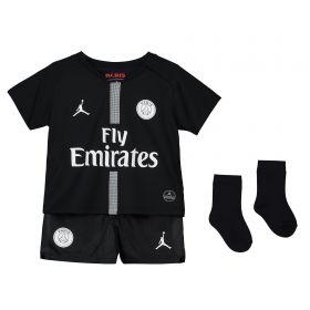 Paris Saint-Germain Third Home Stadium Kit 2018-19 - Infants with Paredes 8 printing