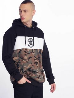Thug Life / Hoodie Lion in camouflage
