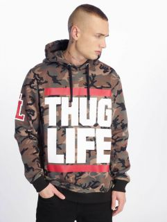 Thug Life / Hoodie B.Fight in camouflage