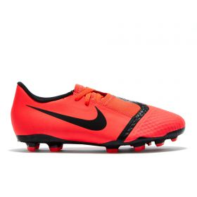 Nike Phantom Venom Academy Firm Ground Football Boots - Red - Kids