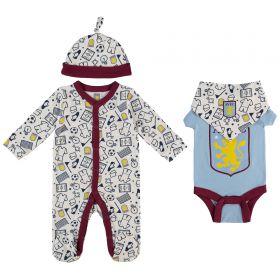 Aston Villa Baby Layette Set - Multi - Unisex