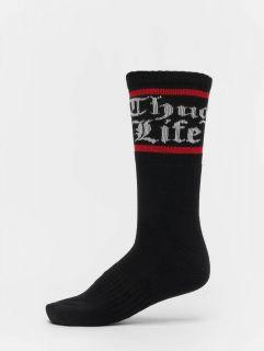Thug Life / Socks Bo double in white