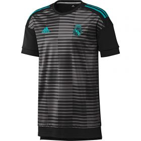 Real Madrid Home Pre Match Shirt - Black