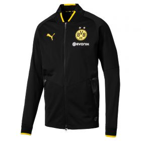 BVB Training Stadium Jacket - Black - Kids