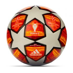 adidas UEFA Champions League Final Madrid Miniball - White