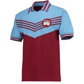 West Ham Utd 1976 Shirt - Claret/Sky