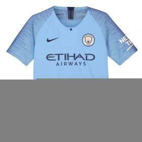 Manchester City Home Vapor Match Shirt 2018-19 - Kids with Gündogan 8 printing