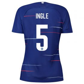Chelsea Home Stadium Cup Shirt 2018-19 - Womens with Ingle 5 printing