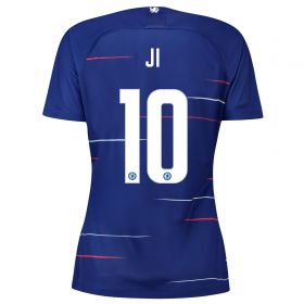 Chelsea Home Stadium Cup Shirt 2018-19 - Womens with Ji 10 printing