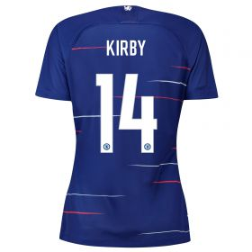 Chelsea Home Stadium Cup Shirt 2018-19 - Womens with Kirby 14 printing