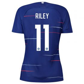 Chelsea Home Stadium Cup Shirt 2018-19 - Womens with Riley 11 printing