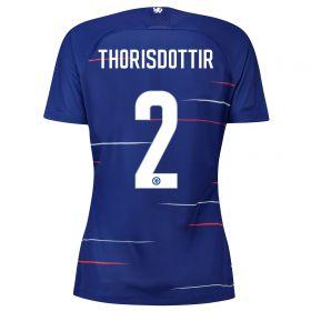 Chelsea Home Stadium Cup Shirt 2018-19 - Womens with Thorisdottir 2 printing