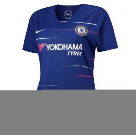 Chelsea Home Stadium Shirt 2018-19 - Womens with Azpilicueta 28 printing