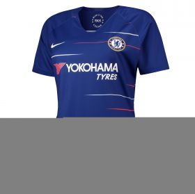 Chelsea Home Stadium Shirt 2018-19 - Womens with Marcos A. 3 printing