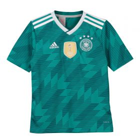 Germany Away Shirt 2018 - Kids with Popp 11 printing