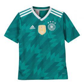 Germany Away Shirt 2018 - Kids with Rudy 21 printing