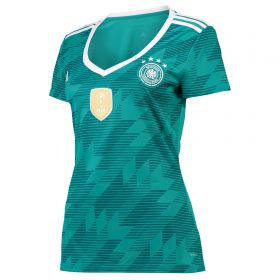 Germany Away Shirt 2018 - Womens with Rudiger 16 printing