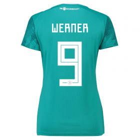 Germany Away Shirt 2018 - Womens with Werner 9 printing