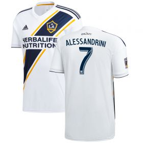 LA Galaxy Home Shirt 2018 with Alessandrini 7 printing