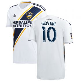 LA Galaxy Home Shirt 2018 with Giovani 10 printing