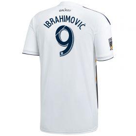 LA Galaxy Home Shirt 2018 with Ibrahimovic 9 printing