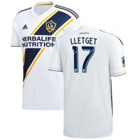 LA Galaxy Home Shirt 2018 with Lletget 17 printing