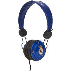 Real Madrid Headphones - Blue