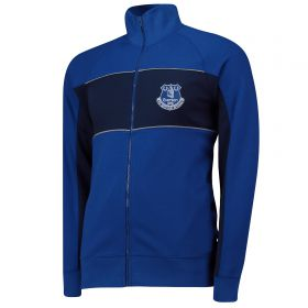 Everton Cut And Sew Track Jacket - Royal - Mens