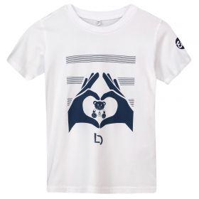 Everton Heart Hands Lucas Digne T Shirt - White - Kids