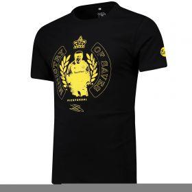 Everton Ministry Of Saves Jordan Pickford T Shirt - Black - Mens