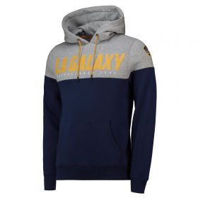 LA Galaxy Cut And Sew OH Hoodie - Navy - Mens