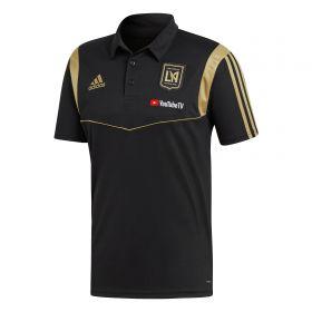 Los Angeles FC Coaches Polo - Black