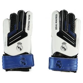Real Madrid Crest Goalkeeper Gloves - Small
